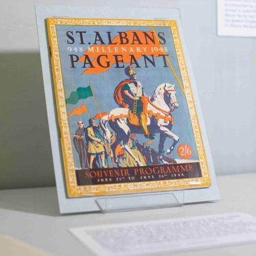 Pageant Fever - exhibition (Souvenir programme)