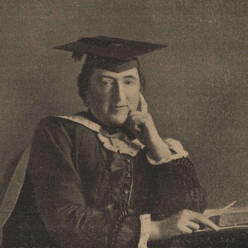 Photograph of Eleanor Ormerod from The People's Magazine in 1901, shortly after her death.