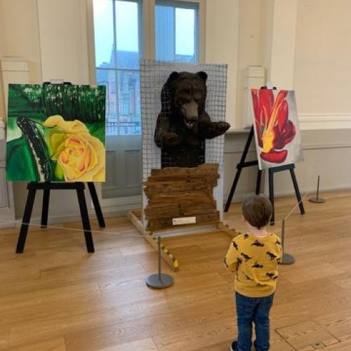 An encounter with a bear