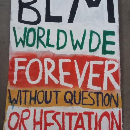 BLM worldwide forever without question or hesitation