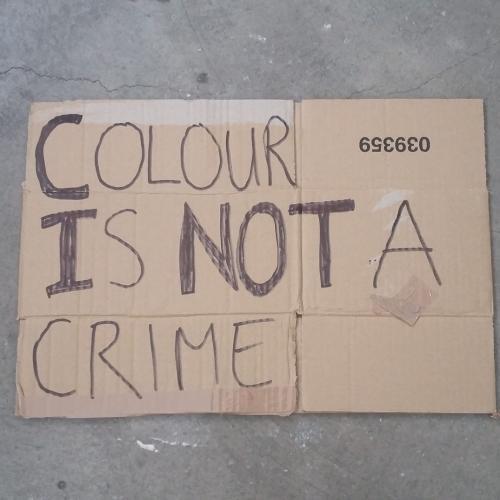 Colour is not a crime