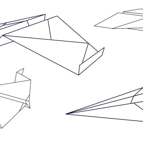 Design a Handley Page paper plane