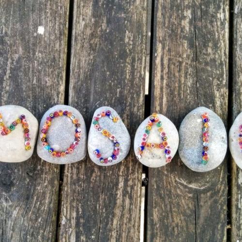 Audrey Montet mosaic design