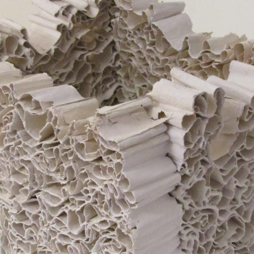 Stack, mineral-like sculpture