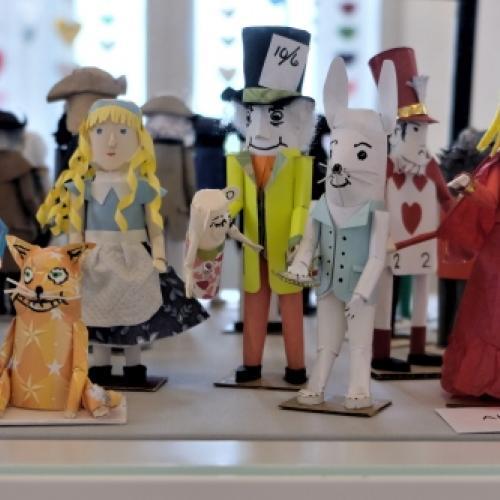 Alice in Wonderland miniature figures