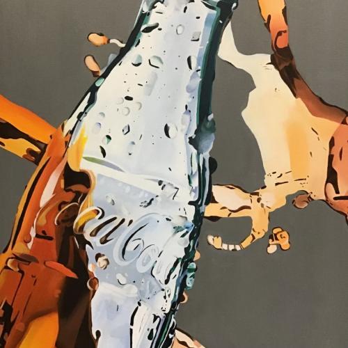Oil on Canvas - Coca Cola. Samuel Ryder
