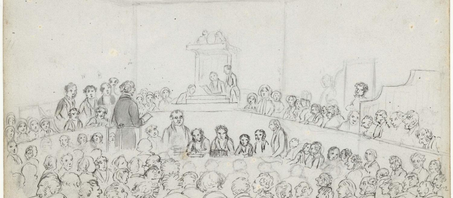 A sketch of The Bribery Commission by Buckingham
