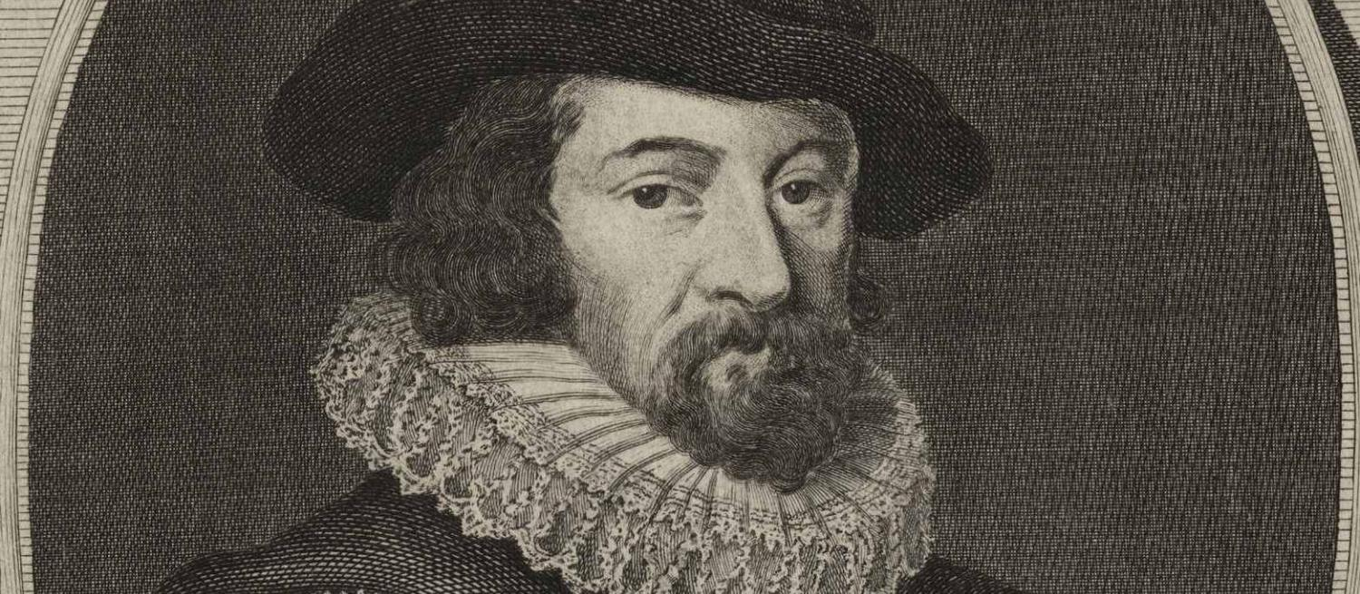 Sir Francis Bacon, Viscount St Albans and Lord Chancellor from an engraving by A. Bannerman.