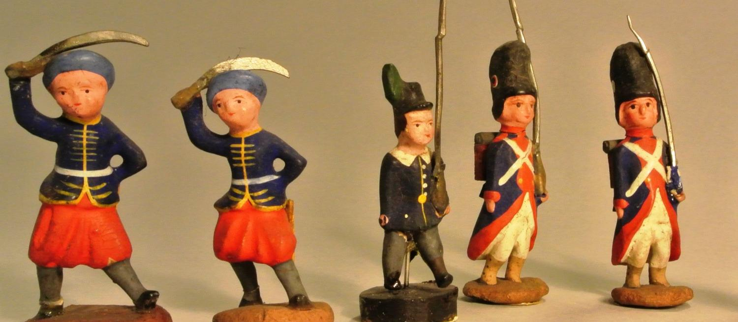 toy soldiers from the St Albans Museums collection