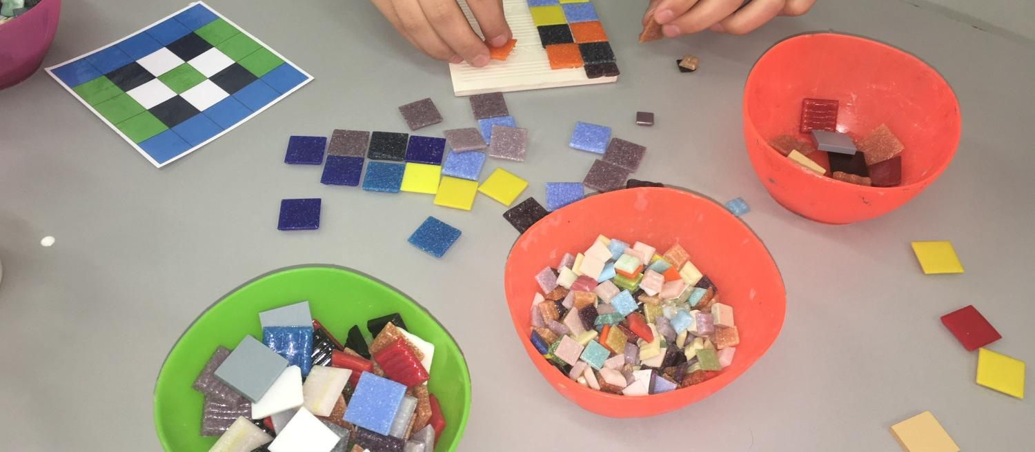 SEN friendly Mosaic Making at Verulamium Museum