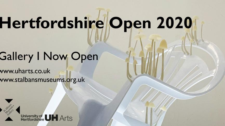 Hertfordshire Open 2020 online now graphic