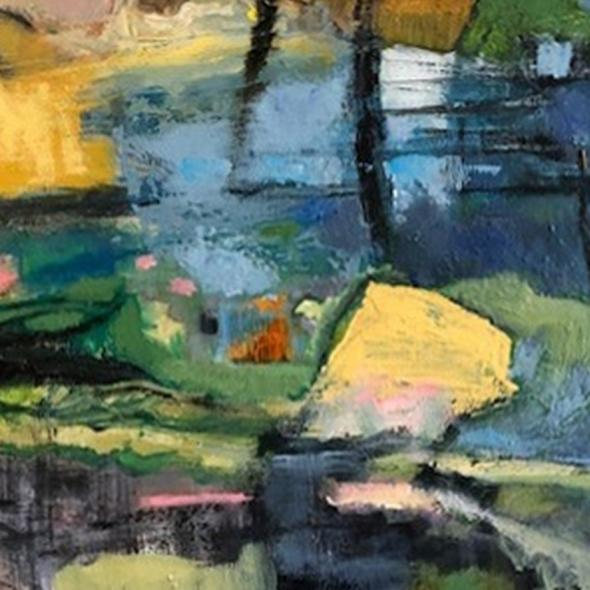 Detail from Creek by Jean Atkinson