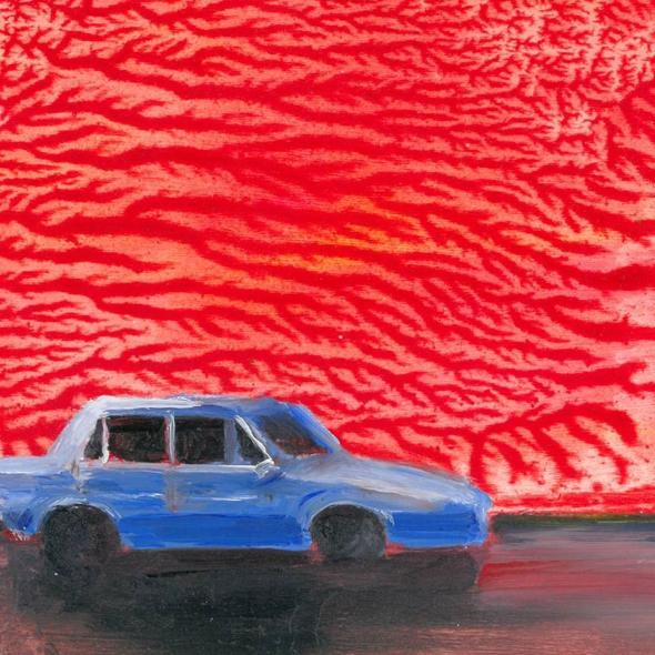 Detail from Car in the City by Robbie O'Keeffe
