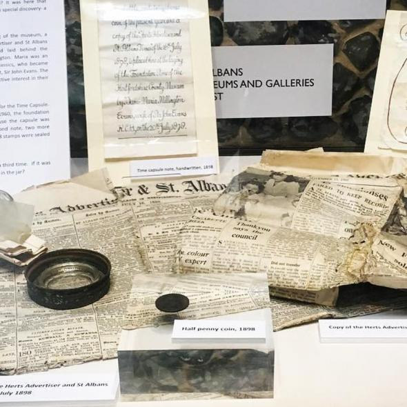 Time Capsule display