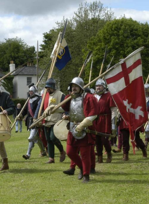 Re-enactment of the First Battle of St Albans, 2005