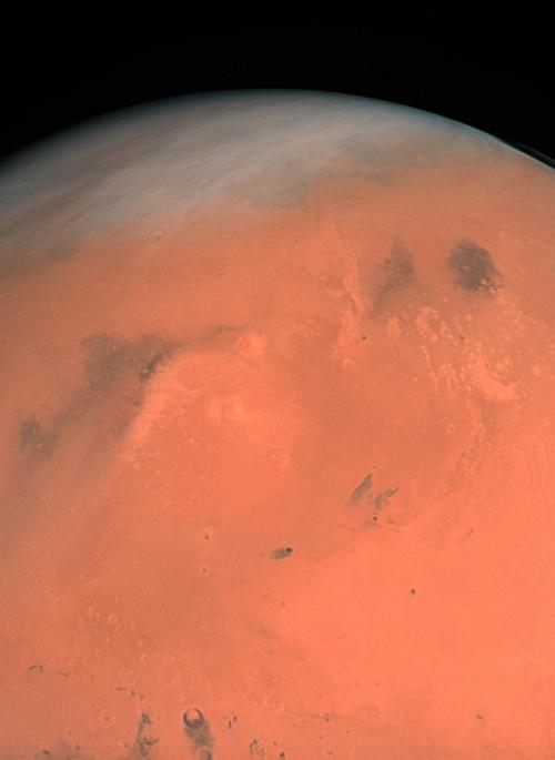 Image of the planet Mars