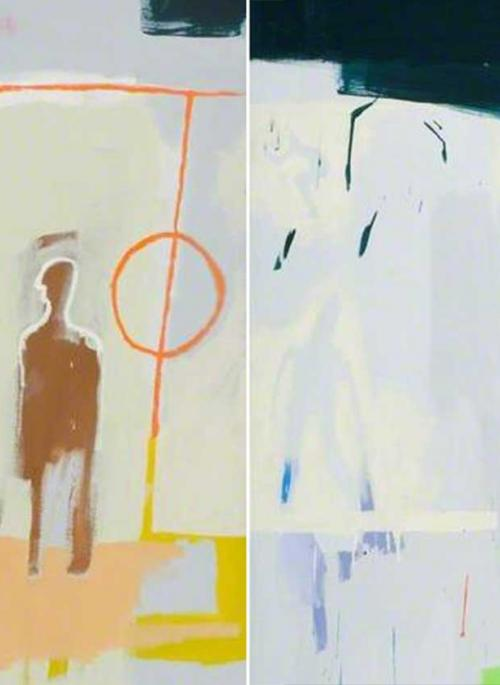 Detail from Diptych by Timo Clarke